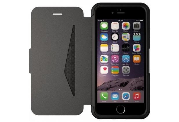OtterBox Strada Leder-Case, Apple iPhone 6, schwarz