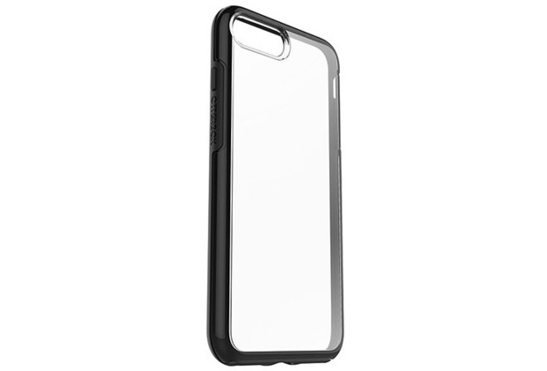 OtterBox Symmetry Clear, iPhone 7 Plus, Black Crystal
