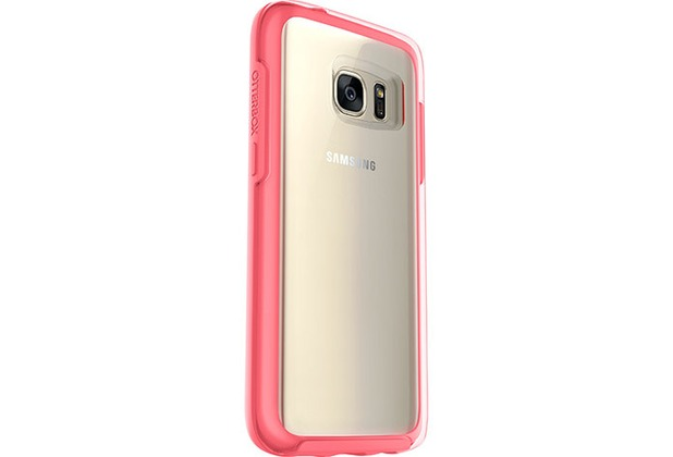 OtterBox Symmetry Clear, Samsung Galaxy S7, Pink Crystal