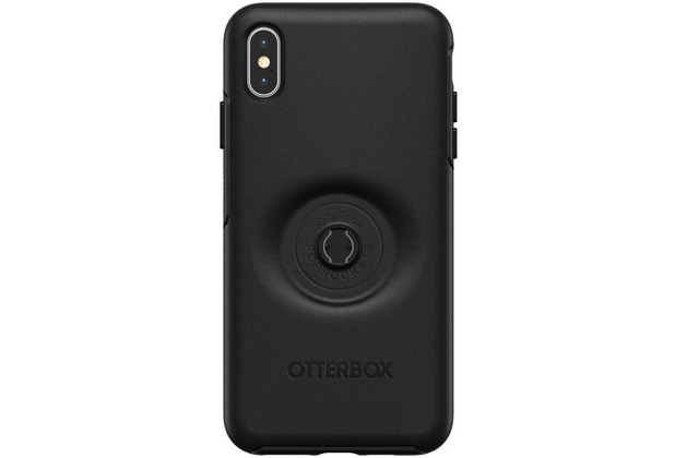 OtterBox Symmetry Pop Apple iPhone XS Max schwarz Popsocket