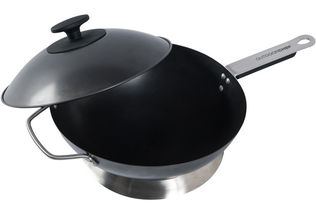 Outdoorchef Barbecue Wok, schwarz