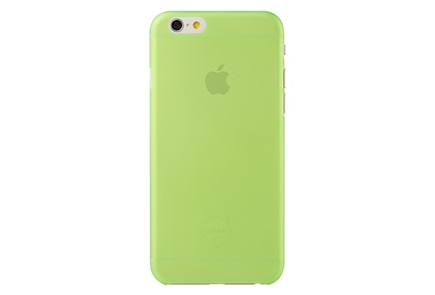 Ozaki O!Coat 0.3+Jelly für iPhone 6, grün