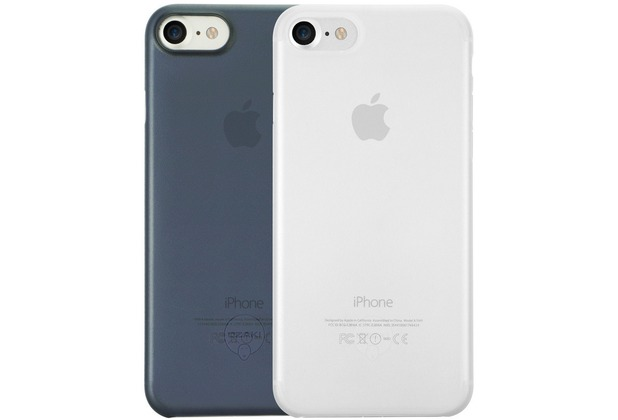 Ozaki O!Coat 0.3 Jelly Case 2 in 1 Set - Apple iPhone 7 / iPhone 8 / iPhone SE 2020 - transparent