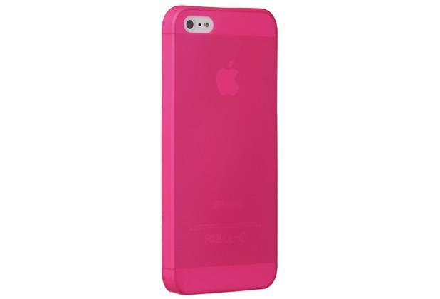 Ozaki O!Coat 0.3 Jelly für iPhone 5/5S/SE, pink