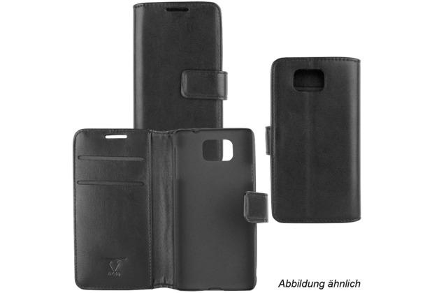 Fontastic OZBO PU Tasche Diary Business schwarz komp. mit Huawei P10