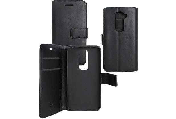 Fontastic OZBO PU Tasche Diary Business - schwarz - für LG G2 Mini