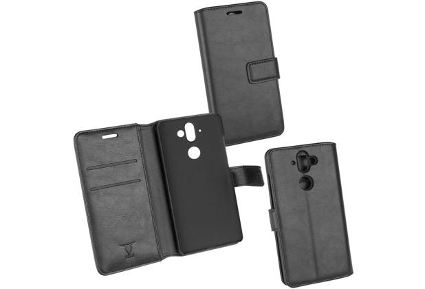 OZBO PU Tasche Diary Business schwarz komp. mit Nokia 9