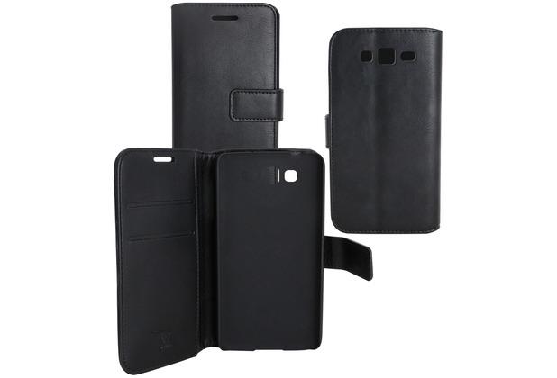 Fontastic OZBO PU Tasche Diary Business - schwarz - für Samsung Galaxy Grand Neo