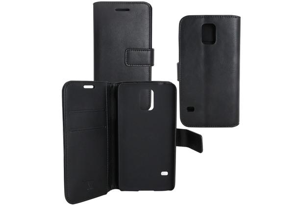 OZBO PU Tasche Diary Business schwarz komp. mit Samsung Galaxy J6 (2018)