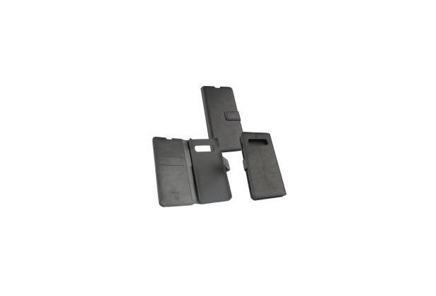 OZBO PU Tasche Diary Business schwarz komp. mit Samsung Galaxy S10 Plus