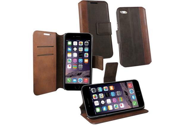 Fontastic OZBO PU Tasche Diary Calico - braun - für Apple iPhone 6+/6s+