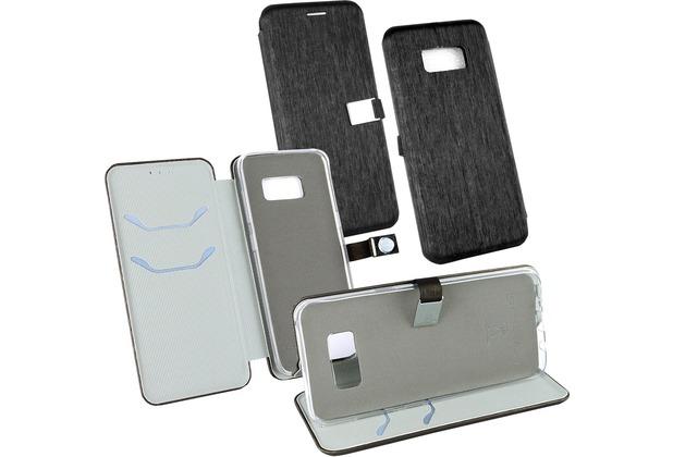 Fontastic OZBO PU Tasche Diary Ela schwarz komp. mit Samsung Galaxy S8