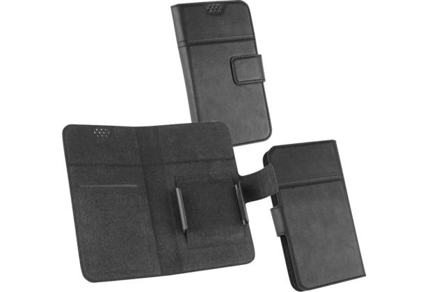 Fontastic OZBO PU Tasche Diary Hola 2XL - schwarz - Universal 142x72x10