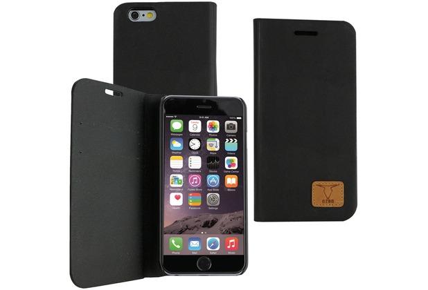 Fontastic OZBO PU Tasche Diary Slim - schwarz - für Apple iPhone 6+/6s+