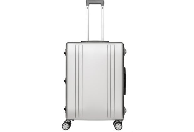 Packenger Alu Reisekoffer, 63L, Silber