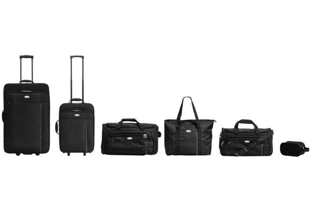 Packenger Familien Reise-Set, Schwarz