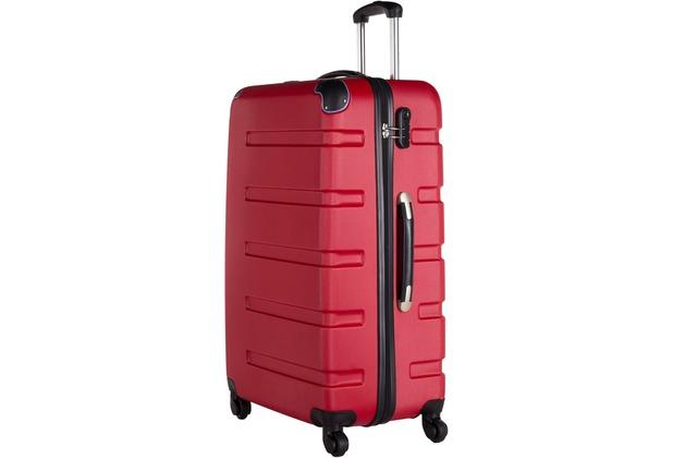 Packenger Koffer Marina M in Rot