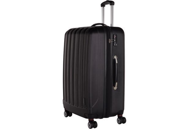 Packenger Koffer Velvet L in Schwarz