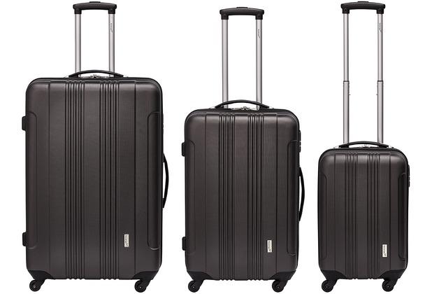 "Packenger Kofferset \""Torreto\"" in Anthrazit"
