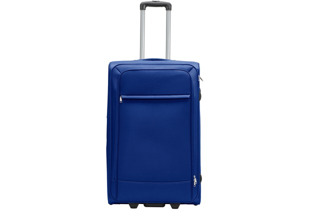 Packenger Lite Business Textilkoffer Größe L, Dunkelblau