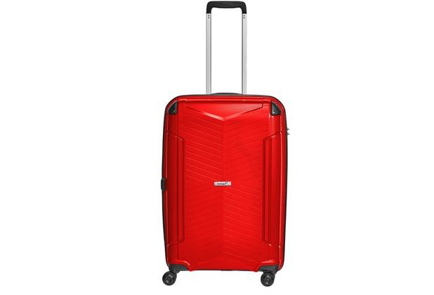 """Packenger Premium Koffer Silent 24"""" Rot"""