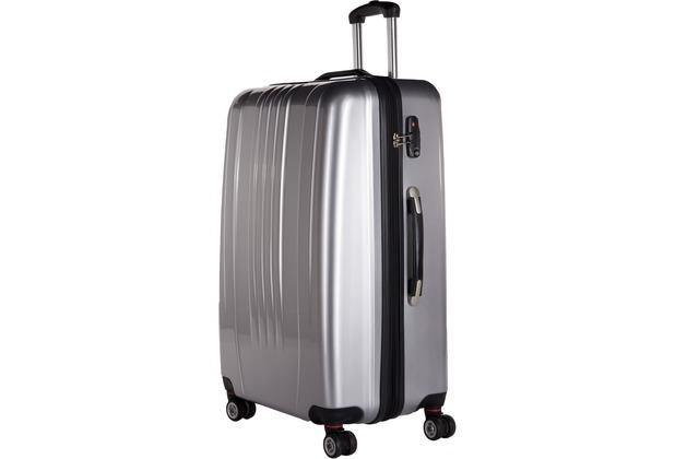 Packenger Premium Koffer Stone XL in Silber