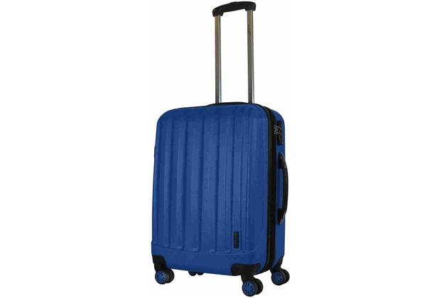 Packenger Premium Koffer Velvet L in Dunkelblau