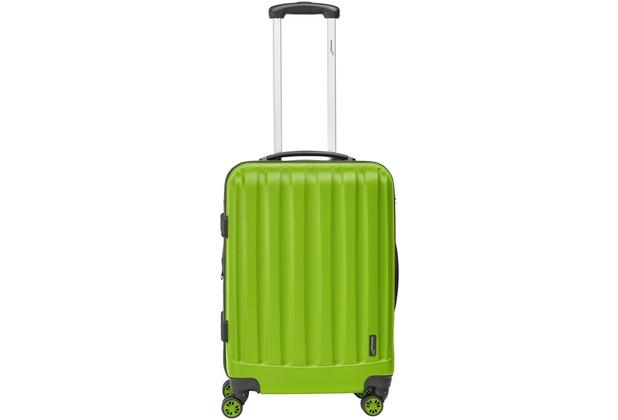 Packenger Premium Koffer Velvet L in Grün