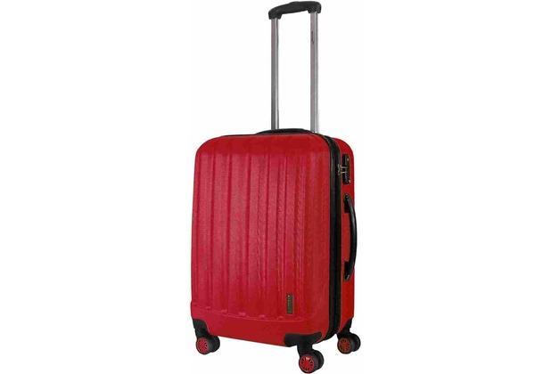 Packenger Premium Koffer Velvet L in Rot