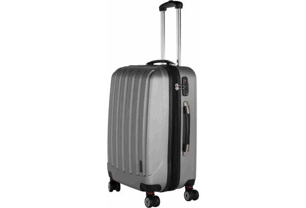 Packenger Premium Koffer Velvet M in Grau