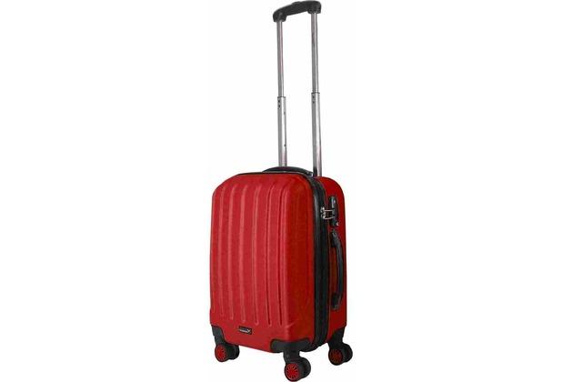 Packenger Premium Koffer Velvet M in Rot