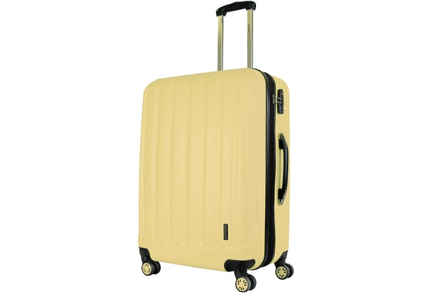 Packenger Premium Koffer Velvet XL in Cafe-au-lait