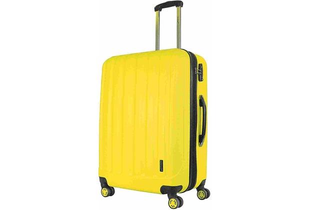 Packenger Premium Koffer Velvet XL in Lemon - Gelb