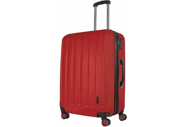 Packenger Premium Koffer Velvet XL in Rot
