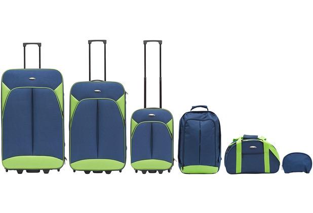 Packenger Value Traveller 6er-Reiseset, Blau