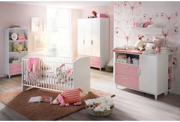 PACK\'S Babyzimmer Aik Alpinweiß 70x140 cm