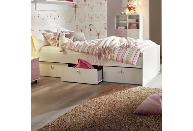 PACK\'S Bett Aik Alpinweiß 90x200 cm
