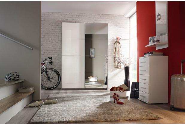PACK\'S Drehtürenschrank Minosa weiß/Alpinweiß 91x197x54 cm