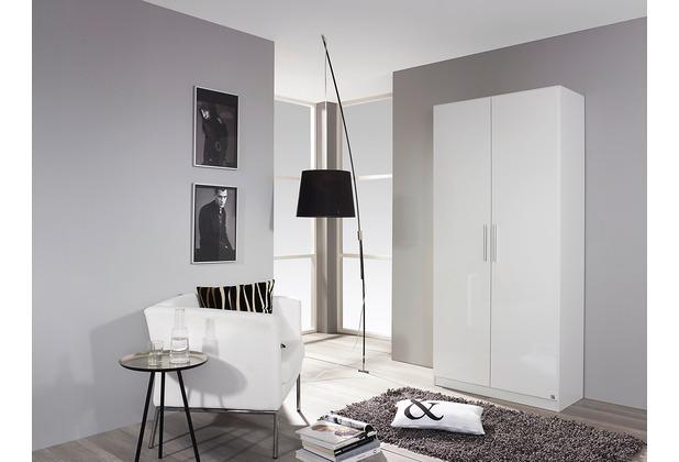 PACK\'S Drehtürenschrank Minosa weiß/Alpinweiß 91x197x41 cm