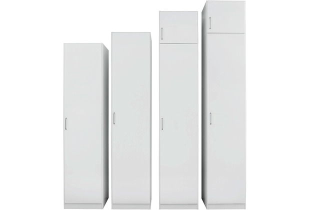 PACK\'S Drehtürenschrank Prima Alpinweiß 91x210x41 cm