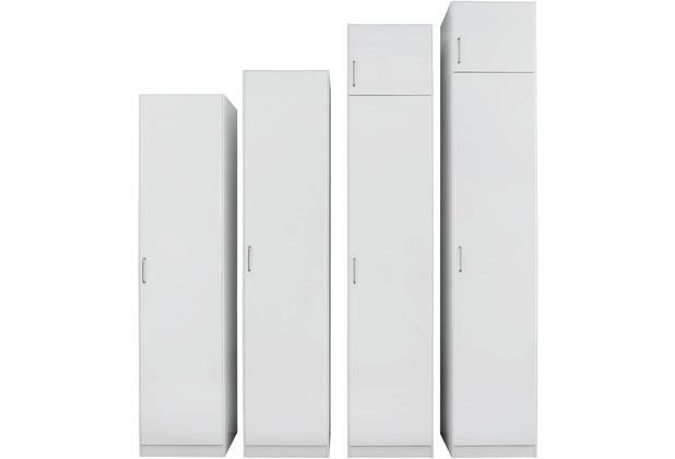 PACK\'S Drehtürenschrank Prima Alpinweiß 91x210x54 cm