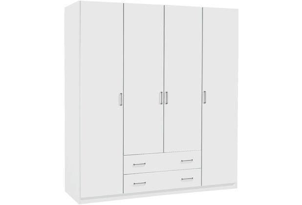 PACK\'S Drehtürenschrank Prima Alpinweiß 1810x1970x540 cm