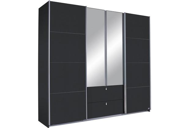 PACK\'S Schwebetürenschrank Kombino Graumetallic 226x210x62 cm
