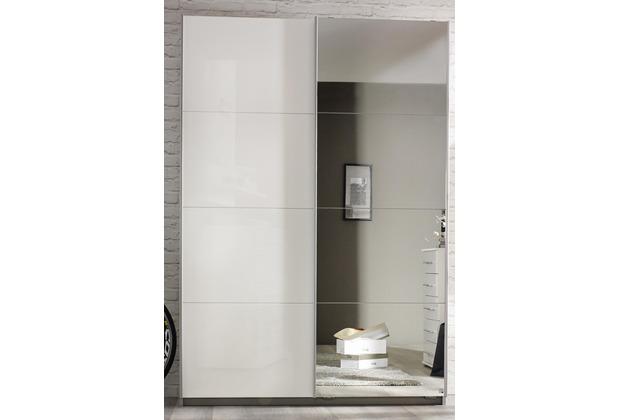 PACK\'S Schwebetürenschrank Minosa weiß/Alpinweiß 1360x1970x480 cm