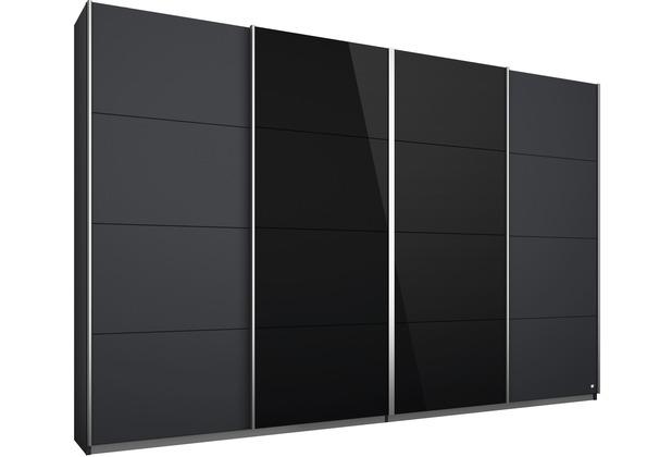 PACK\'S Synchron-Schwebetürenschrank Syncrono grau/alu 2710x2110x620 cm