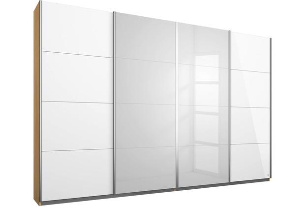 PACK\'S Synchron-Schwebetürenschrank Syncrono weiß/eiche sonoma 271x211x62 cm