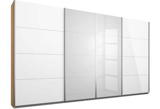 PACK\'S Synchron-Schwebetürenschrank Syncrono weiß/eiche sonoma 316x211x62 cm