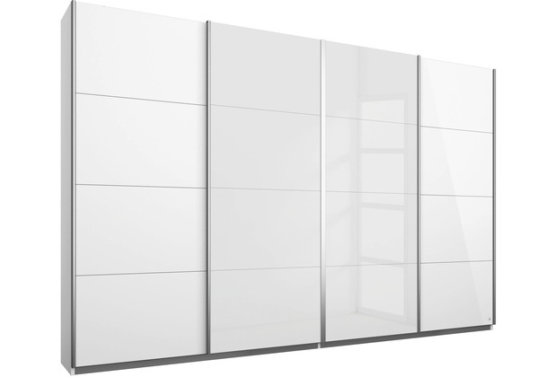 PACK\'S Synchron-Schwebetürenschrank Syncrono weiß/alu 271x211x62 cm