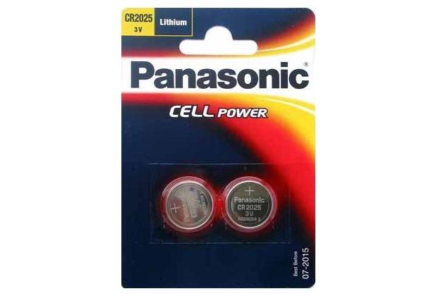 Panasonic CR-2025L/2BP 2er Blister, 3v