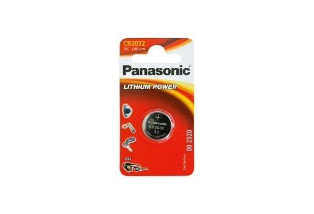 Panasonic CR2032 Lithium, 3v